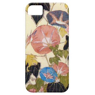 朝顔、北斎の朝顔、Hokusai、Ukiyo-e iPhone SE/5/5s ケース