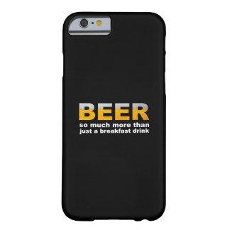 朝食のためのビール BARELY THERE iPhone 6 ケース
