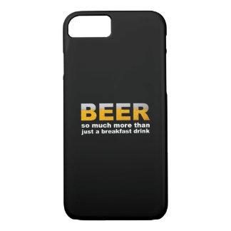 朝食のためのビール iPhone 8/7ケース
