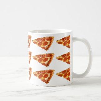 朝食のためのピザ コーヒーマグカップ