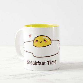 朝食のための卵 ツートーンマグカップ