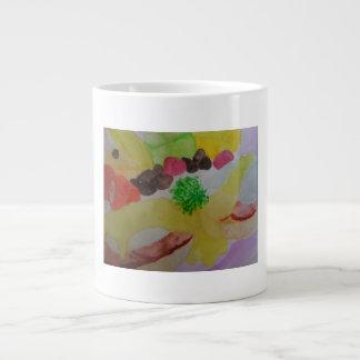 朝食のコーヒー・マグ ジャンボコーヒーマグカップ