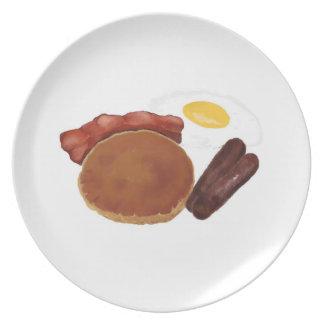 朝食のプレートスペシャル プレート