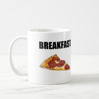 朝食のマグのためのピザ コーヒーマグカップ