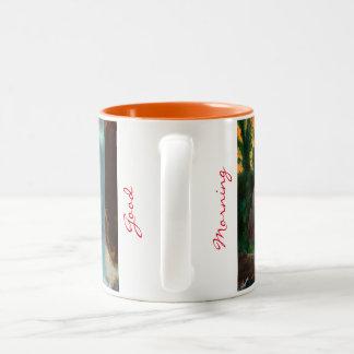 朝食のマグ ツートーンマグカップ