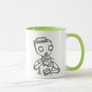 朝食のロボット マグカップ