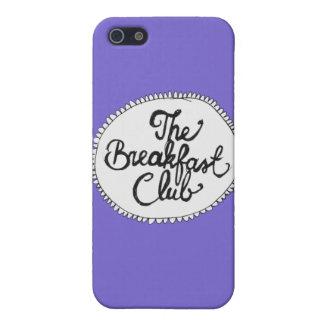 朝食クラブ紫色のiPhone 5の箱 iPhone 5 Cover