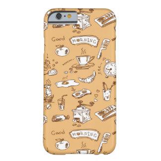朝食パターン2 BARELY THERE iPhone 6 ケース
