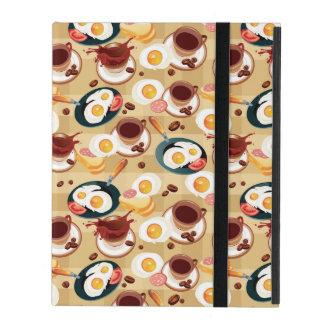 朝食パターン3 iPad ケース