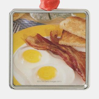 朝食2 メタルオーナメント