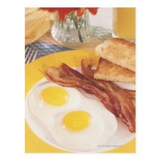 朝食2 葉書き