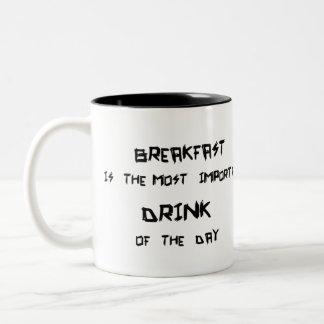 朝食 ツートーンマグカップ