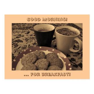 朝食 ポストカード