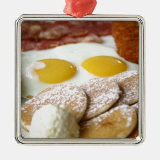 朝食 メタルオーナメント