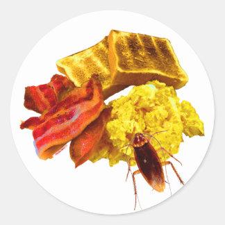 朝食 ラウンドシール