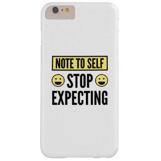 期待することを止めて下さい BARELY THERE iPhone 6 PLUS ケース
