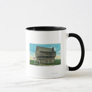 期間のブロックハウスの外観 マグカップ
