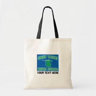 木々の緑に覆われた谷の騎士 トートバッグ