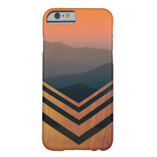 木および日没の眺めのIphoneの場合 Barely There iPhone 6 ケース