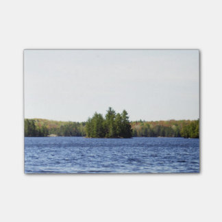 木および水場面 ポストイット