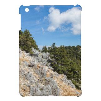 木および青空が付いているロッキー山脈でメンバーからはずして下さい iPad MINIケース