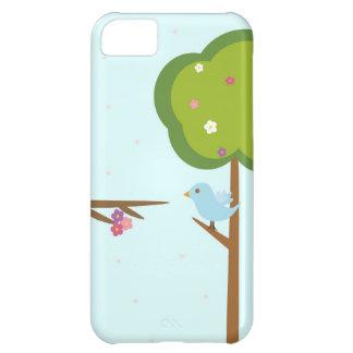 木および鳥 iPhone5Cケース