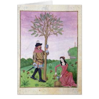 木からのスケッチの樹液 カード