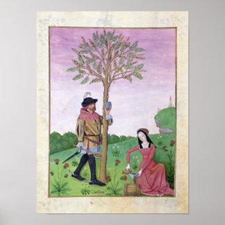 木からのスケッチの樹液 ポスター
