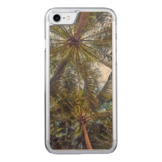 木で印刷されるやし CARVED iPhone 8/7 ケース
