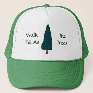 木として高い歩行-帽子 キャップ