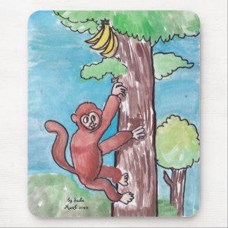 木のお金 マウスパッド