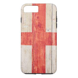 木のイギリスの旗 iPhone 8 PLUS/7 PLUSケース