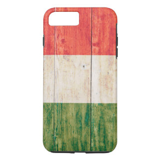 木のイタリアの旗 iPhone 8 PLUS/7 PLUSケース