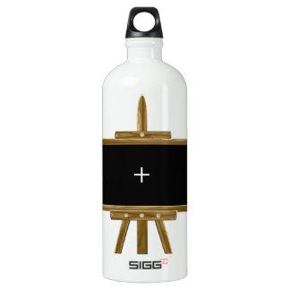 木のイーゼル ウォーターボトル