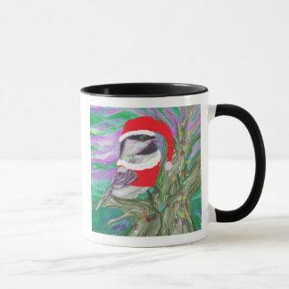 木のクリスマスの《鳥》アメリカゴガラ マグカップ