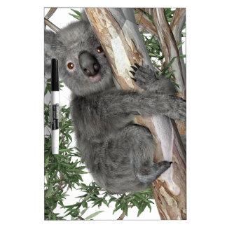 木のコアラ ホワイトボード