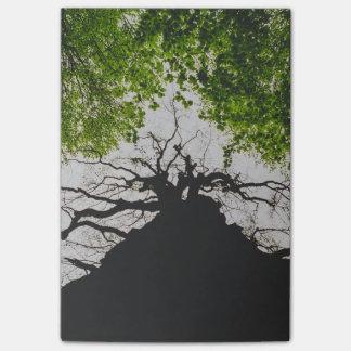 木のシルエット ポストイット