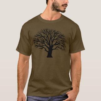 木のシルエット Tシャツ