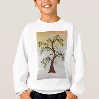 木のスケッチ スウェットシャツ