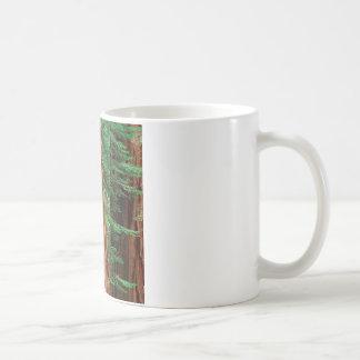 木のセコイアオスギのMariposa果樹園ヨセミテ コーヒーマグカップ