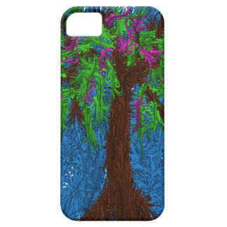 木のテーマの電話箱 iPhone SE/5/5s ケース