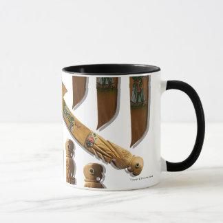 木のナイフのマグ マグカップ