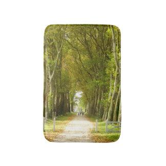 木のバス・マットの道 バスマット