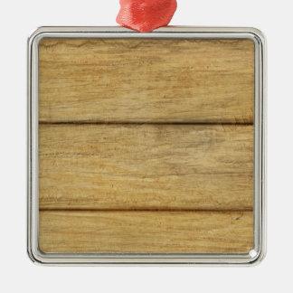 木のパネルの質 メタルオーナメント