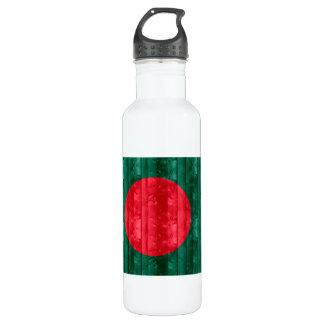 木のパングラデシュの旗 ウォーターボトル