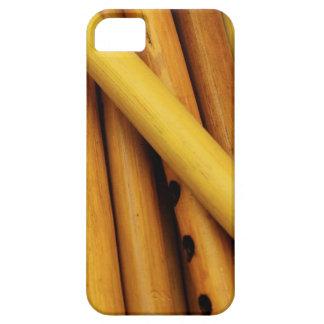 木のフルート iPhone SE/5/5s ケース