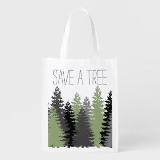 木のマツトートを救って下さい エコバッグ