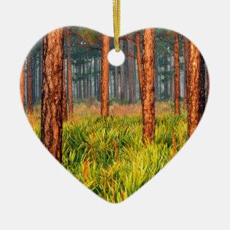 木のマツ脱出牧場フロリダ セラミックオーナメント