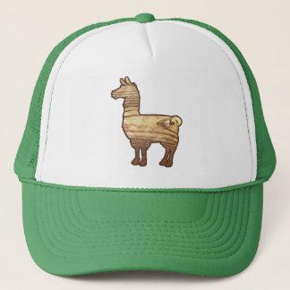 木のラマの帽子 キャップ