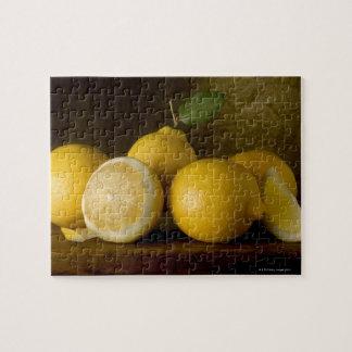 木のレモン ジグソーパズル